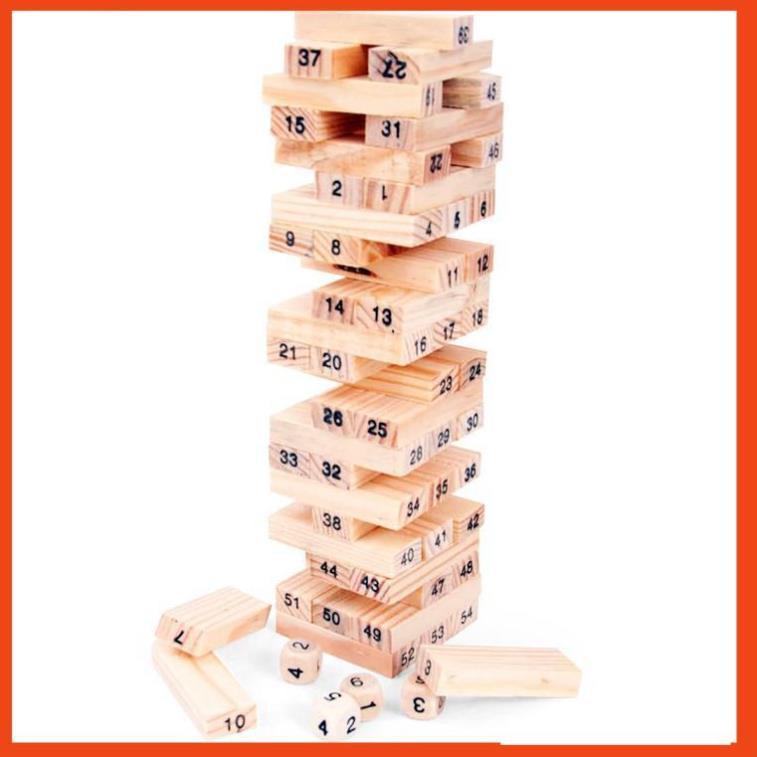 Bộ rút gỗ 54 thanh mini