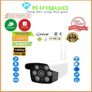 Camera wifi Yoosee 6 Led Ngoài trời Full HD 2.0mMpx ,hồng ngoại-đèn led-giám sát-an ninh