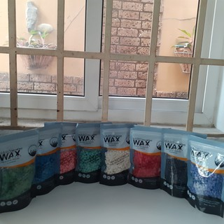 (Miễn phí que lấy sáp) Sáp wax tẩy lông nóng dạng hạt đậu Hair Wax Bean nhiều màu để khách yêu lựa chọn thumbnail