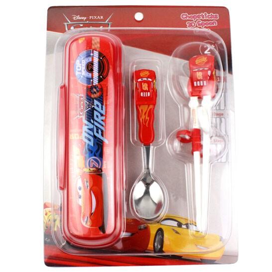 Bộ đũa tập ăn 3D, thìa Inox và hộp đựng cho bé Disney PIXAR - Mc Queen - 2405716 , 1090527769 , 322_1090527769 , 350000 , Bo-dua-tap-an-3D-thia-Inox-va-hop-dung-cho-be-Disney-PIXAR-Mc-Queen-322_1090527769 , shopee.vn , Bộ đũa tập ăn 3D, thìa Inox và hộp đựng cho bé Disney PIXAR - Mc Queen