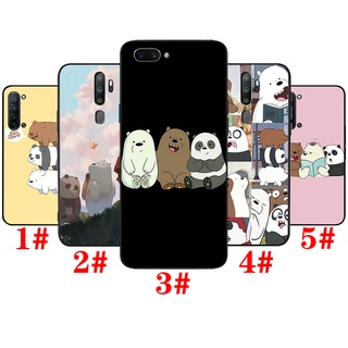 Soft Case OPPO A1K A12 A12E A12S A3S A5 A5S A7 A9 A32 A53 A73 2020 4G PhoneCase Casing XA200 We Bare Bears Silicone TPU Cover