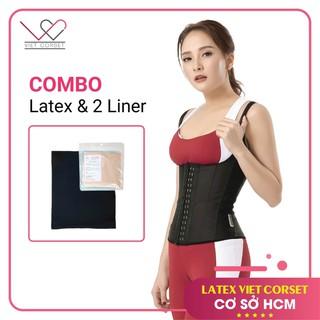 [COMBO] Latex Việt Corset Và 2 Liner chống hằn ngứa, điều hòa thân nhiệt -Giúp mặc Latex Slim thoải mái nhất