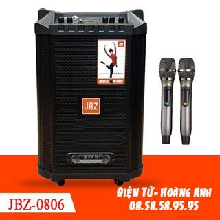 Loa kéo JBZ-NE – 0806, loa karaoke 2 tấc, công suất 300W