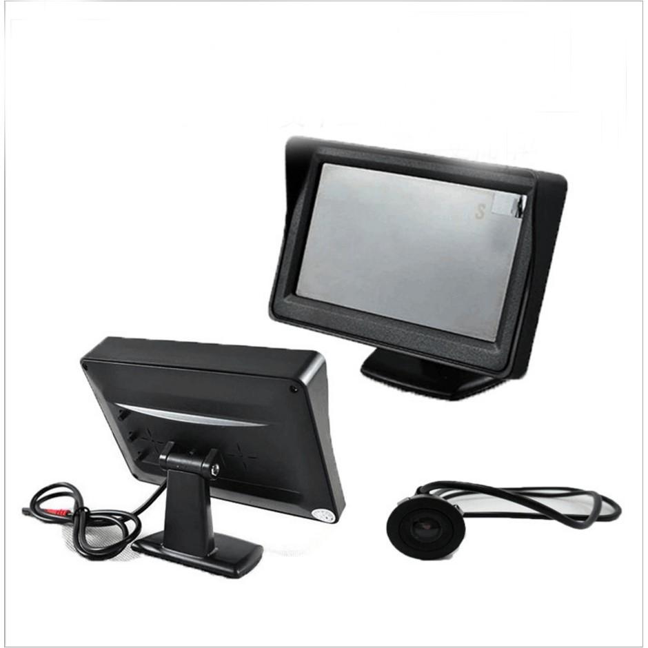 camera lùi cho xe ô tô cao cấp có màn hình 4 inch 3