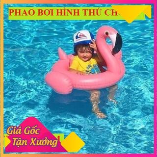 [HCM]-Hot- Phao Bơi Chống Lật Hình Thú Siêu Dễ Thương – Phao Xỏ Chân Hình Thú 80cm Cho Bé Chất Liệu An Toàn Tuyệt Đối
