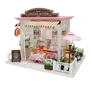 Mô hình nhà búp bê – Tiệm bánh kẹo Sô-cô-la Chocolatier
