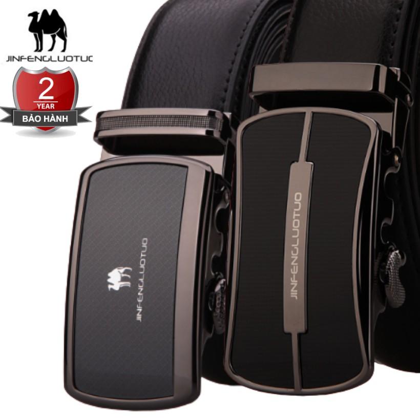(NEW 2020 Men's Leather Belts) Bảo Hành 2 Năm II Dây Nịt Thắt Lưng Da Lạc Đà Thật Cao Cấp II Hàng Nhập Nam Nữ