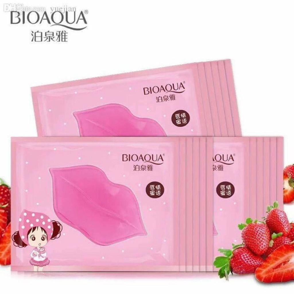 MẶT NẠ MÔI Bioaqua dưỡng ẩm và trị môi thâm