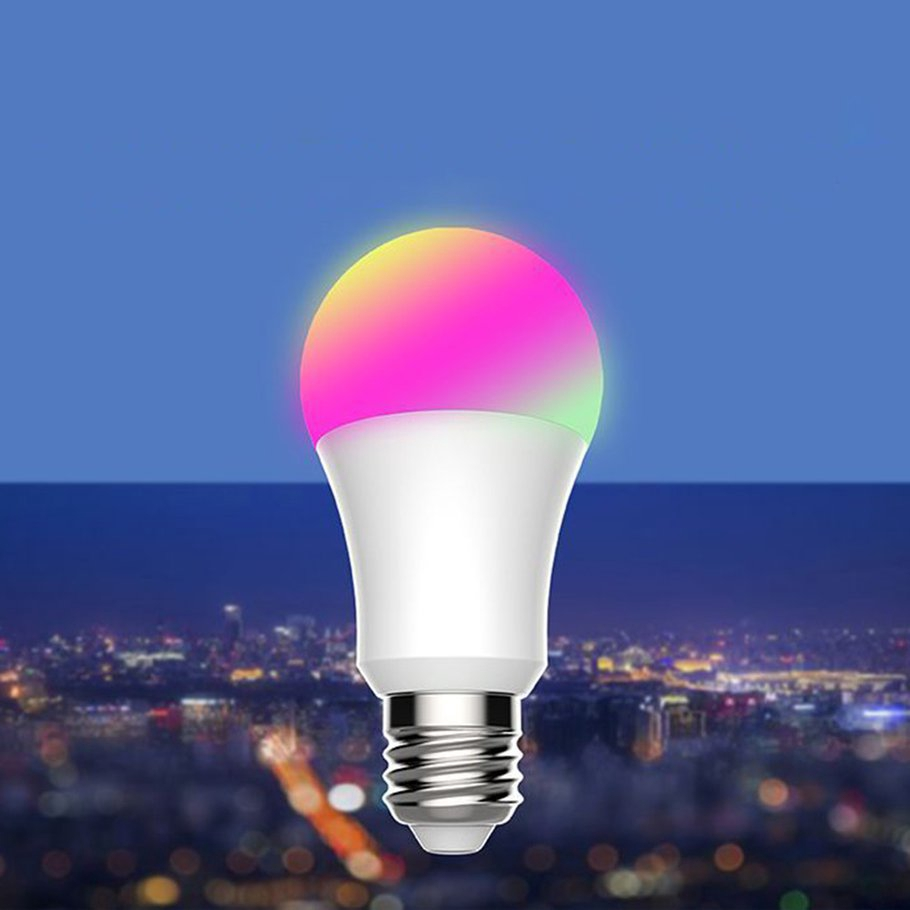 【SYH】Color Change Smart WiFi LED Bulb Amazon Voice Control Alexa Dimmable Bulb TB95