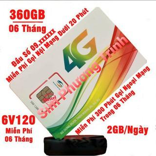 Sim 4G Viettel trọn gói 360GB/6Tháng và miễn phí gọi nội mạng