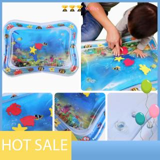 [willss] YeSheng Baby Kids Water Play Mat Inflatable Infants Tummy Time Playmat Toy