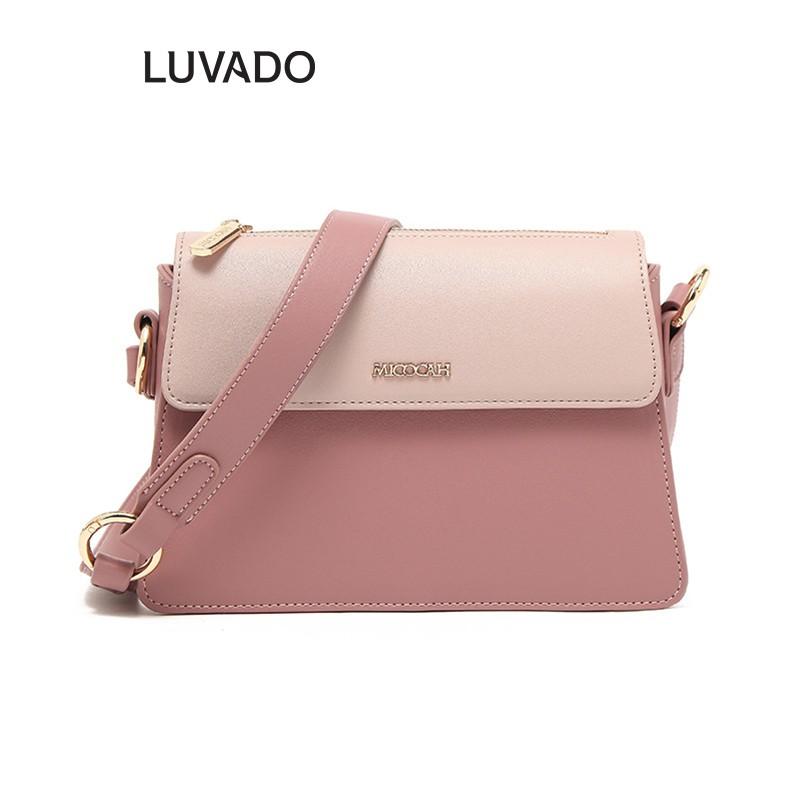 Túi đeo chéo nữ mini đi học MICOCAH cá tính giá rẻ dễ thương nhiều ngăn LUVADO TX559