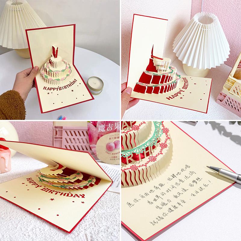 Thiệp 3d Chúc Mừng Sinh Nhật