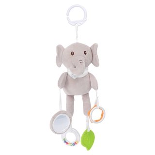1pc Plush Cartoon Toy Infant Rattle Toy Pacify Doll Infant Hanging Rattles