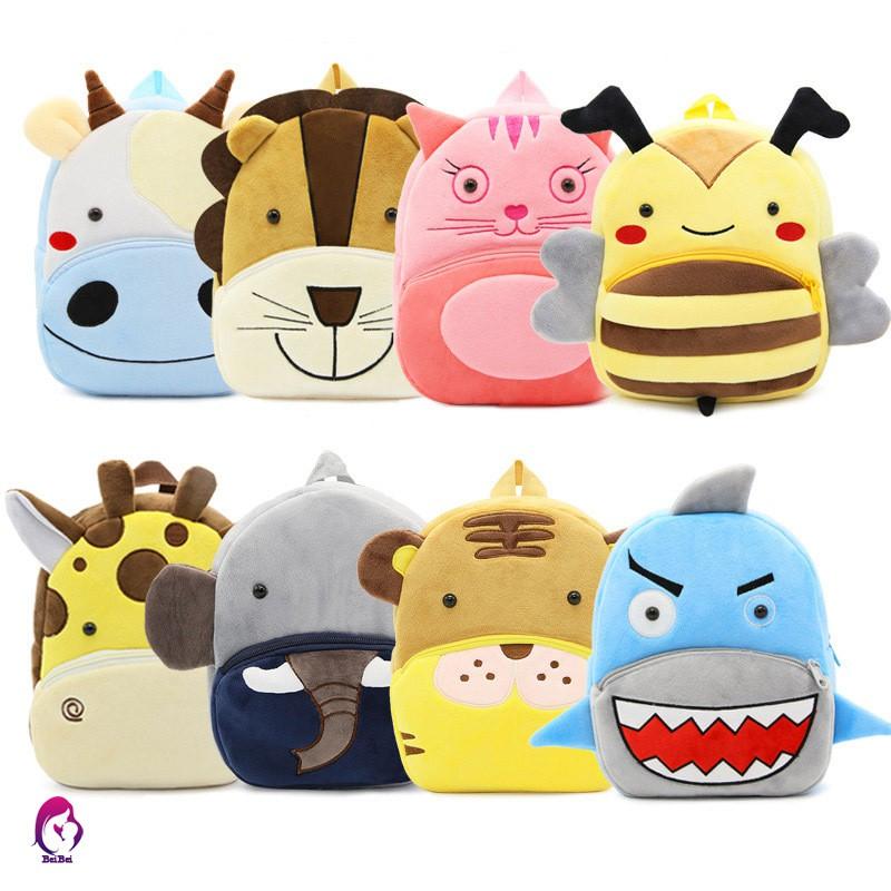 Ba lô hình các con vật đáng yêu dành cho các bé mẫu giáo