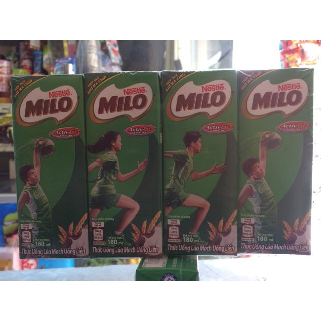 Sữa mi lô vỉ