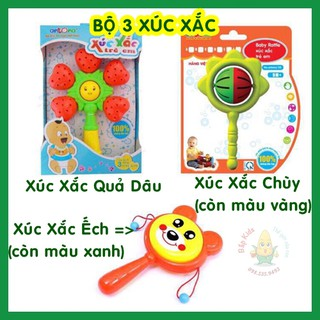 Combo 3 xúc xắc ếch – chùy – quả dâu Antona (Hàng Việt Nam)