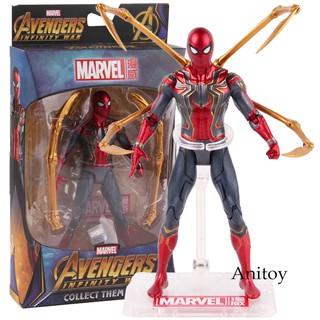 Mô hình đồ chơi nhân vật siêu anh hùng Spiderman bằng nhựa PVC cao cấp thumbnail