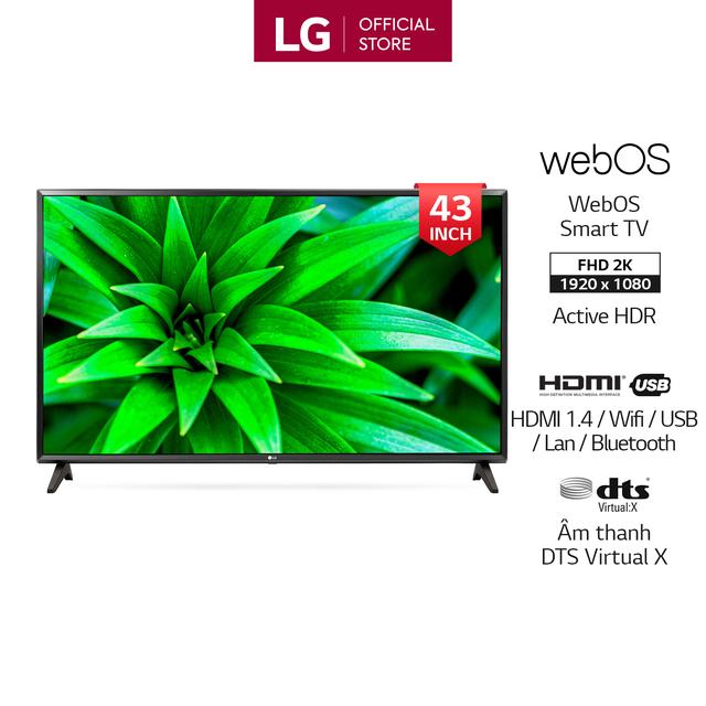 Smart Tivi LG 43 inch Full HD 43LM5700PTC - Model 2019 (Chính Hãng Phân Ph
