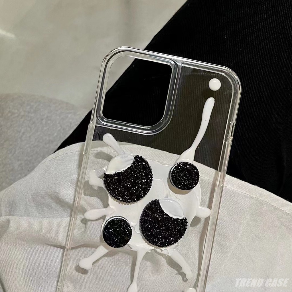 Butter Biscuits Clear Design Mobile Phone Cases for iPhone 12 11 Pro Max XR XS 7PLUS 8 Plus XSE2020 Soft...