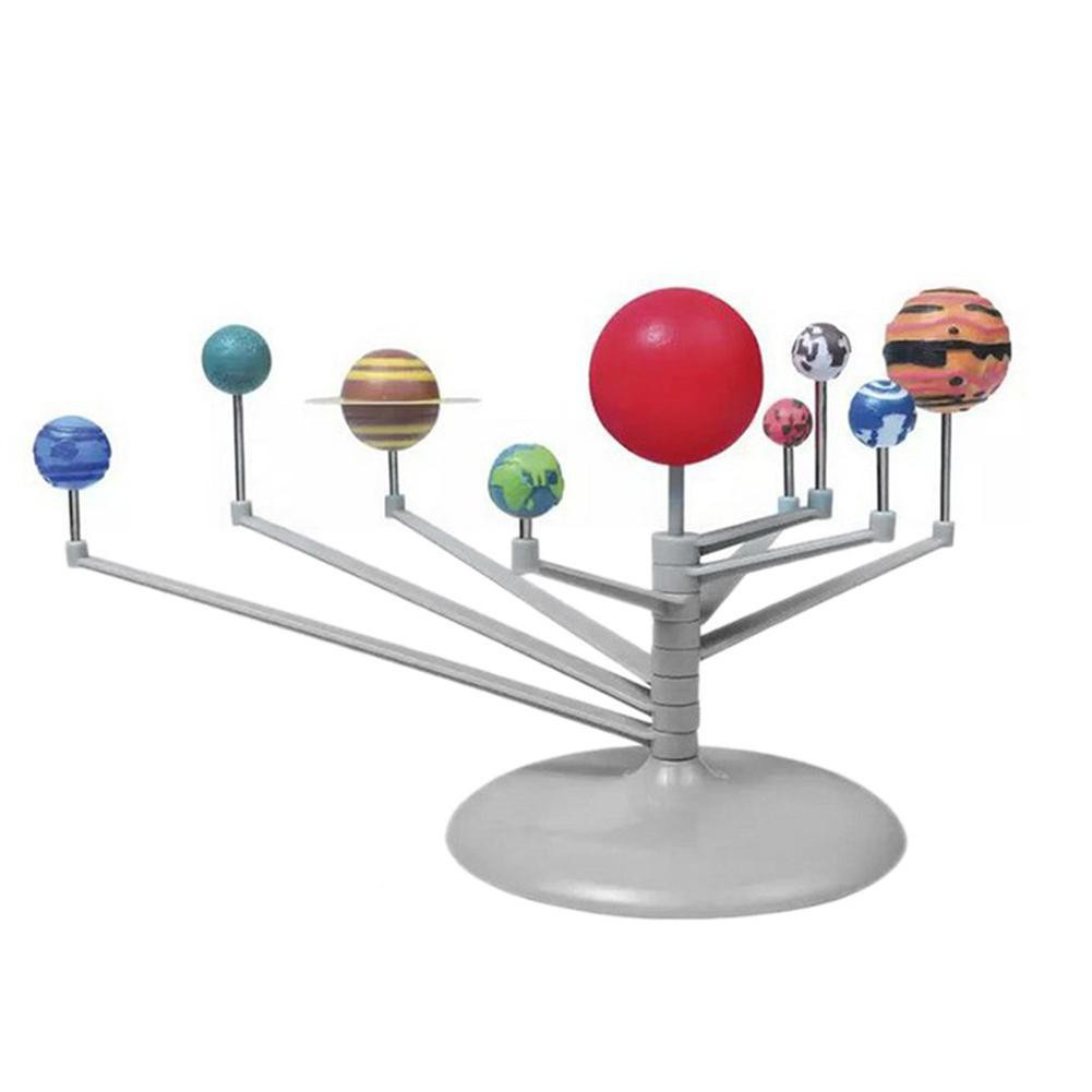 Bộ mô hình hệ mặt trời 3D tự làm vui nhộn