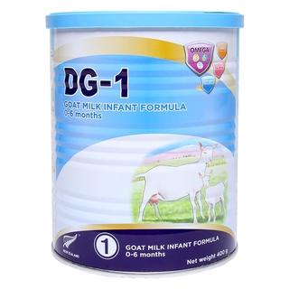 Sữa dê DG Goat công thức DG-1 lon 400gr