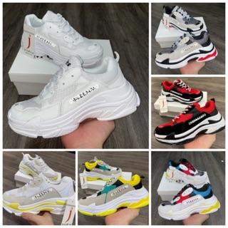 Yêu Thích[Freeship+Hộp+Dây 50] New Color Video giày thể thao nam nữ+Hộp+Dây phản quang 50k