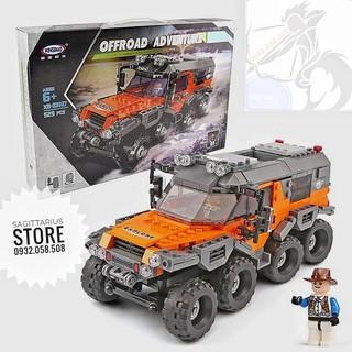 Lego XingBao-XB03027 Lắp Ráp Xe Tải Địa Hình ( 529 Mảnh )