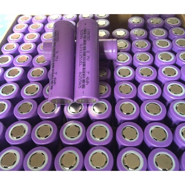 Cell pin Li-on NEW SZNS 18650 dung lượng 2000maH