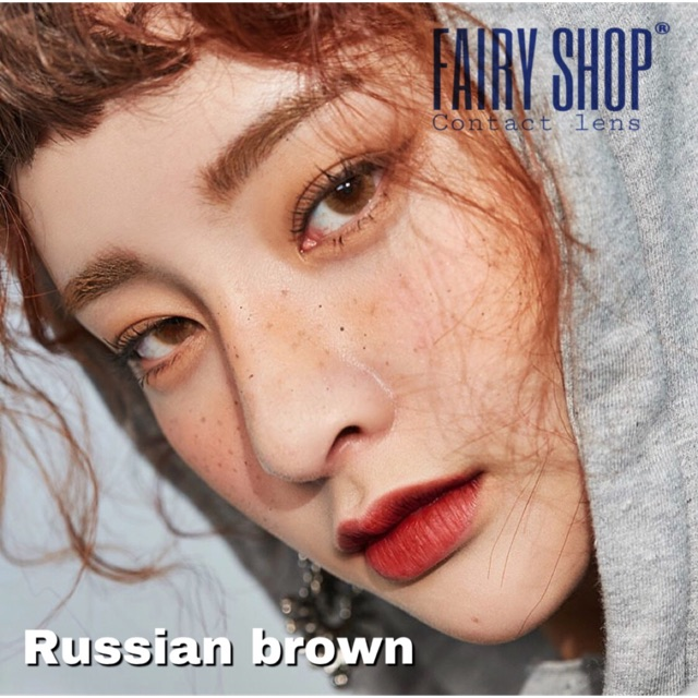Áp tròng Russian Brown