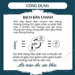 Bình xịt khử mùi toilet hương Bạch Đàn Chanh PK 30ml 100ml - khử mùi, diệt khuẩn 5