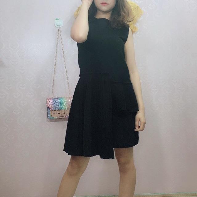 Váy công sở, đắp vạt