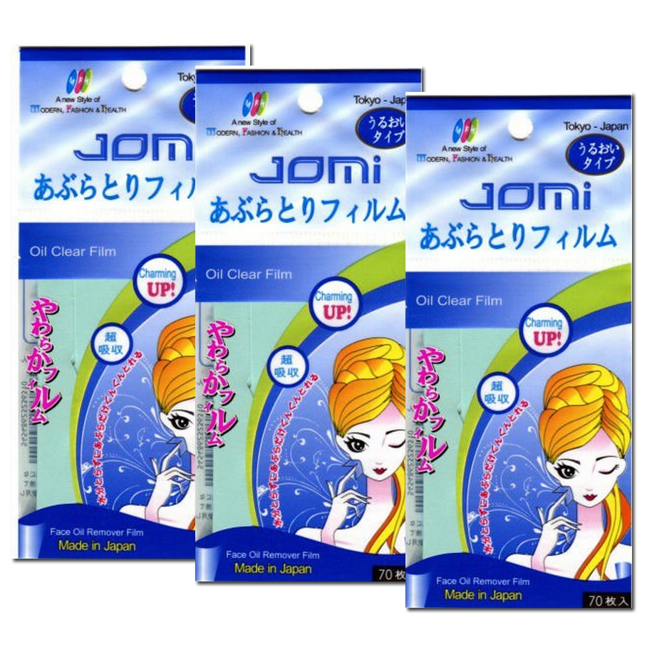 Giấy thấm dầu Jomi 70 tờ - Nhật