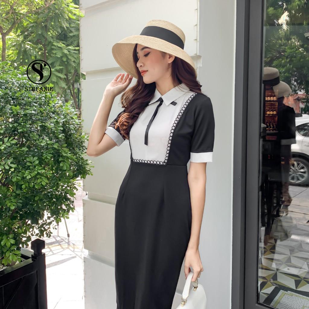 Váy Body - Đầm Công Sở form chuẩn , chất vải XLeo cao cấp, gọn người che bụng Stefanie