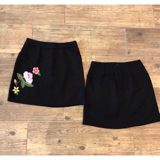 (Sale 140k) Chân váy thêu hoa