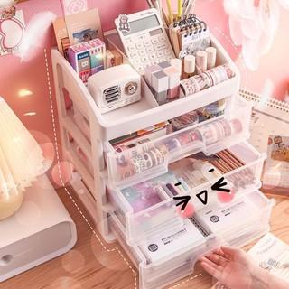 Net người nổi tiếng hộp lưu trữ mỹ phẩm để bàn loại ngăn kéo phòng ngủ tại nhà trong suốt chống bụi sản chăm sóc d thumbnail