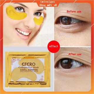 Mặt nạ mắt collagen vàng 24K chống nếp nhăn lão hóa và quầng thâm thumbnail