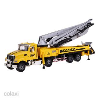 1:55 Alloy Engineering Truck Cement Pump Vehicle Toy Children Toy Model