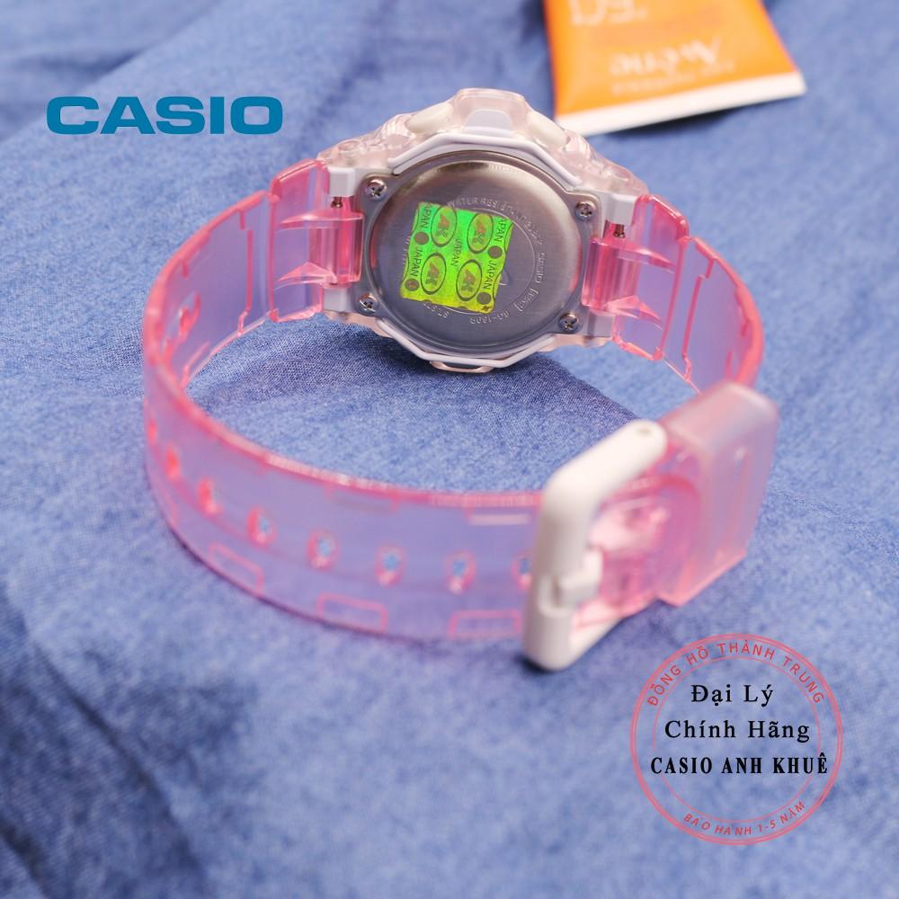 Đồng hồ nữ điện tử Casio BabyG BG-169R-4DR dây nhựa