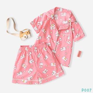 Bộ Quần Áo Pijama Cho Bé 5 Màu In Hình Cute Dễ Thương BELLO LAND thumbnail