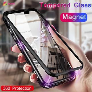 ✪Phone Case✪ 360 Magnetic Adsorption Metal Case For Apple Iphone XS Acew