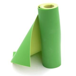 (Dankung – 0.8mm) Cuộn 1m thun Dankung 2 lớp dày 0.8mm (Màu xanh lá)