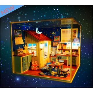 Phòng ngủ nhà búp bê STAR kiểu mới với giường ngủ phá cách cực lạ