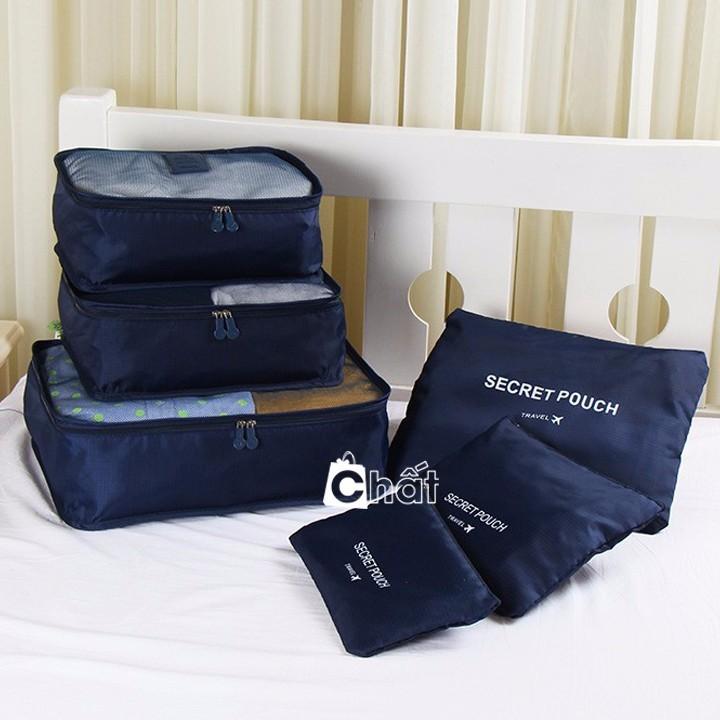 Bộ 6 Túi Du Lịch Vải Dù Xếp Gọn Bag in Bag - 2467887 , 320864727 , 322_320864727 , 170000 , Bo-6-Tui-Du-Lich-Vai-Du-Xep-Gon-Bag-in-Bag-322_320864727 , shopee.vn , Bộ 6 Túi Du Lịch Vải Dù Xếp Gọn Bag in Bag
