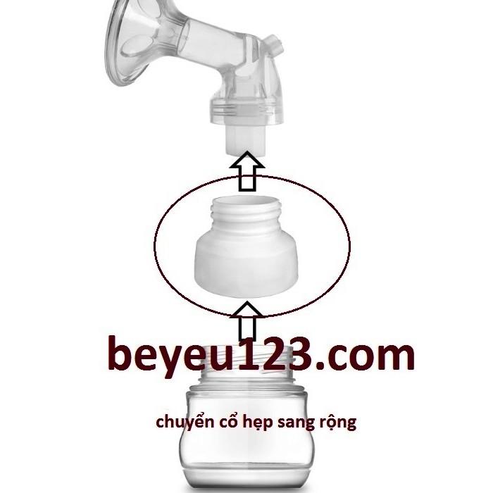 Nắp chuyển đổi cổ bình hẹp sang rộng phụ kiện cho máy hút sữa điện và tay - 2512377 , 57221613 , 322_57221613 , 45000 , Nap-chuyen-doi-co-binh-hep-sang-rong-phu-kien-cho-may-hut-sua-dien-va-tay-322_57221613 , shopee.vn , Nắp chuyển đổi cổ bình hẹp sang rộng phụ kiện cho máy hút sữa điện và tay