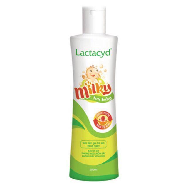 Sữa Tắm Lactacyd Milk 250 Ml