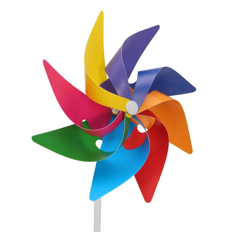 youn* Garden Yard Party Windmill Wind Spinner Decoration Kids Toy