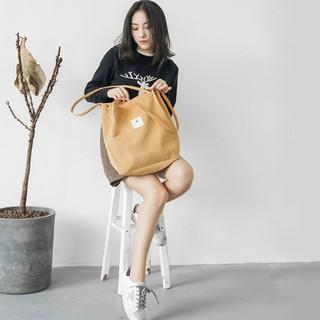 Túi vải nữ thời trang, túi tote chất liệu vải nhung phong cách Hàn Quốc