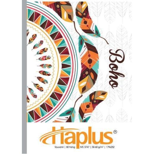 Vở kẻ ngang HAPLUS -SOUVENIR 200 trang
