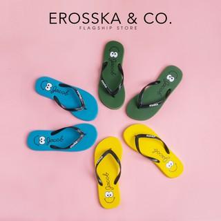 Dép đi biển xỏ ngón in hình hoạ tiết Erosska DK001